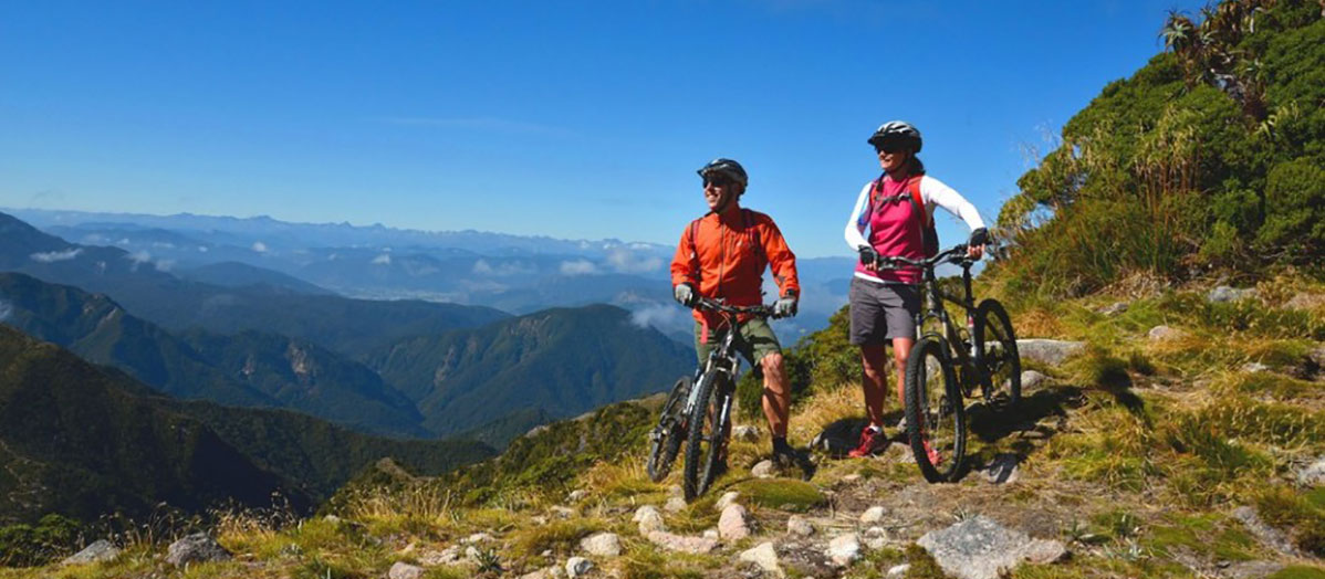 Cycling & mountain biking in Westport, NZ